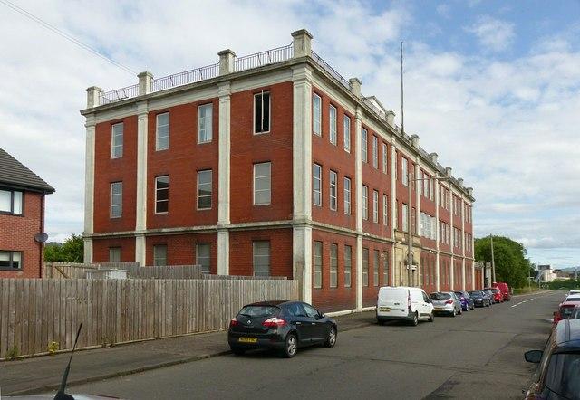 Linthouse Buildings, Holmfauld Road