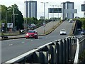 NS5365 : Clyde Tunnel southern approach, Shieldhall Road flyover – 1 by Alan Murray-Rust