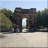 NS5964 : McLennan Arch, Glasgow Green by Rudi Winter