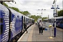 NS5567 : Hyndland Railway Station by Mark Anderson