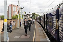 NS5566 : Partick Railway Station by Mark Anderson