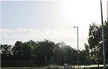 SP8687 : Danesholme Road at the junction of Gainsborough Road by David Howard
