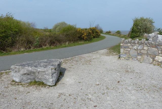 Wales Coast Path at Greenfield/Maes-Glas