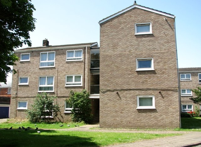 Flats at William Mear Gardens