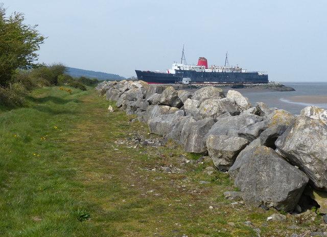 Wales Coast Path at Llannerch-y-môr