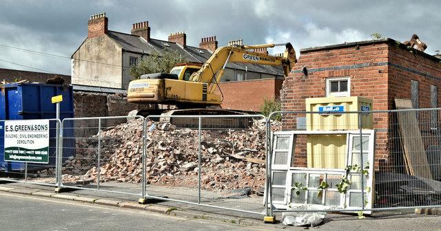 Former school, Apsley Street, Belfast - June 2019(2)