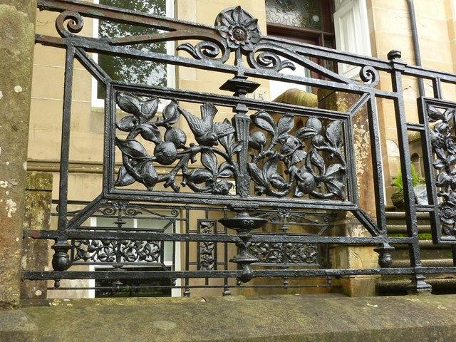 Prince's Gardens, Partickhill – detail