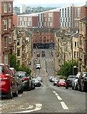 NS5566 : Gardner Street, Partickhill by Alan Murray-Rust