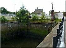 NS5565 : Govan vehicle ferry dock by Alan Murray-Rust