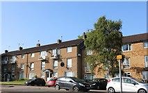 SP8888 : Flats on Elizabeth Street, Corby by David Howard
