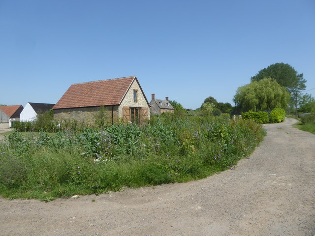 Restored barn, Duxford Farm