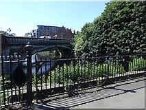 NS5666 : Snow Bridge and Argyle Street Bridge, Glasgow by Rudi Winter