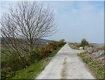 SJ1779 : Wales Coast Path at Glan-y-don by Mat Fascione