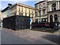 NS5965 : Open and closed public toilets, St Vincent Place, Glasgow by Robin Stott