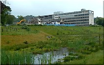 NS4175 : Demolition of the County Buildings by Lairich Rig