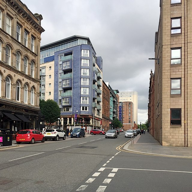 East on Ingram Street, Glasgow