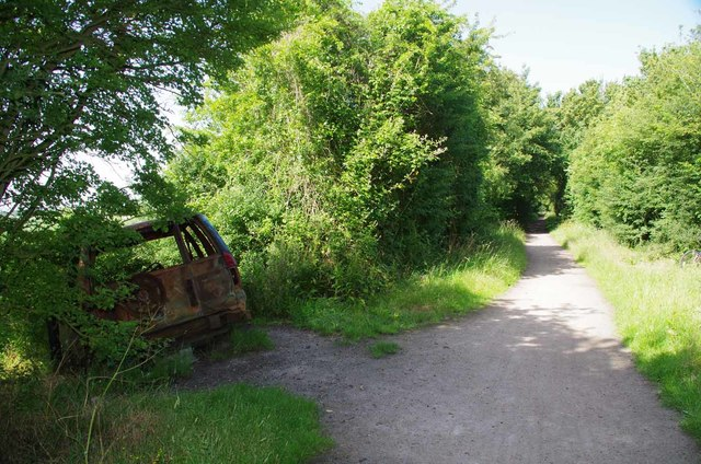 End of a Joyride on the Flitch Way