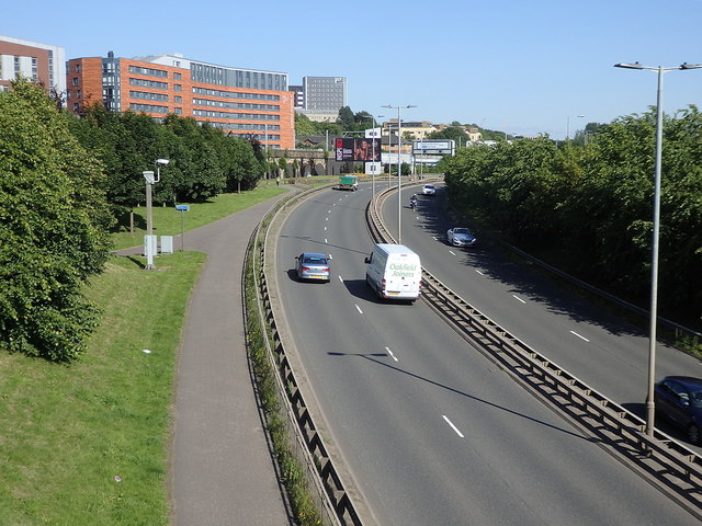 A814 Clyde Expressway, Glasgow