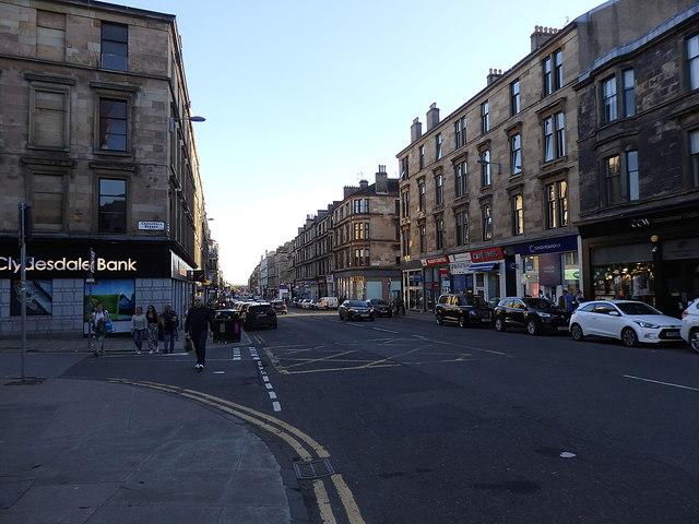 Byres Road, Hillhead, Glasgow