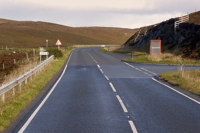 Northbound A970, Road End Bus Stop