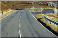 HU3374 : Layby on the A970 by David Dixon