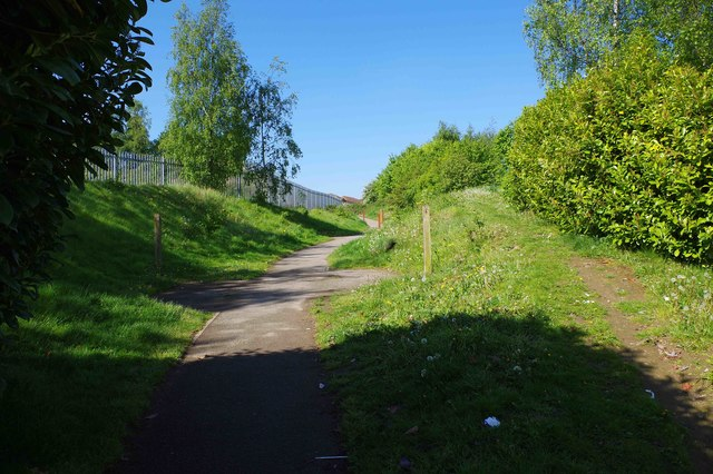 Footpath to Finch Gardens, Bramley, Rotherham