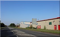 SP9090 : Steel Road, Corby by David Howard
