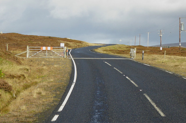Cattle Grid on the A970
