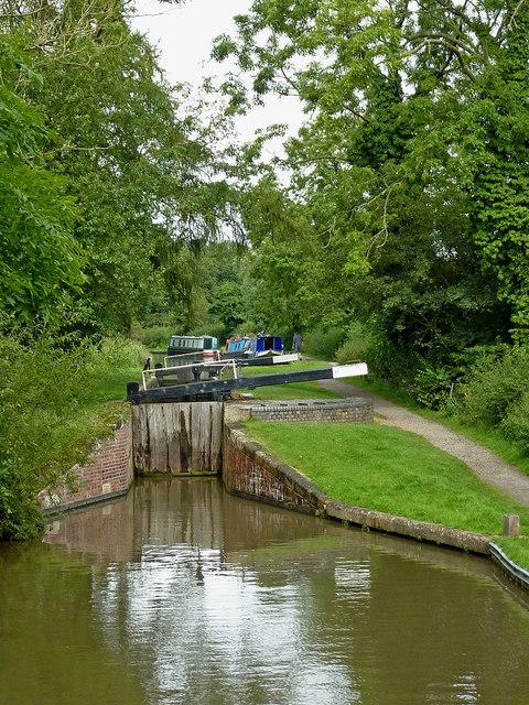 Lock No 23 south of Kingswood Junction, Warwickshire