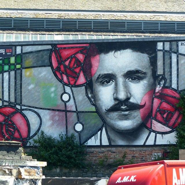 Charles Rennie Mackintosh on Clyde Street