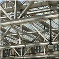 NS5865 : Interior roofscape, Glasgow Central Station by Alan Murray-Rust