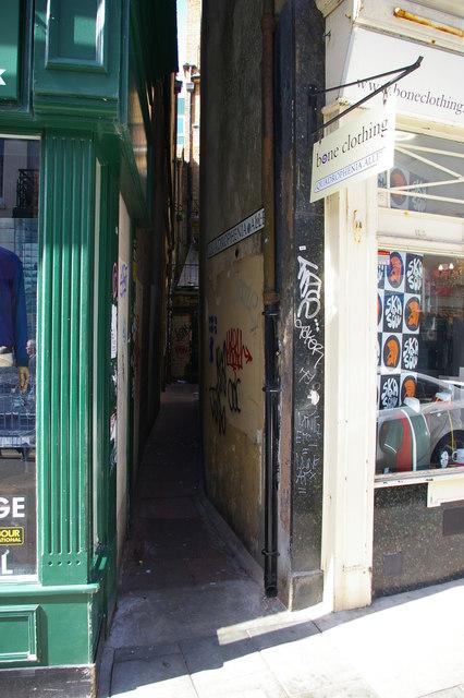 Quadrophenia Alley, off East Street, Brighton