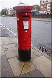 SJ3787 : George VI Postbox on Aigburth Road, Liverpool by Ian S