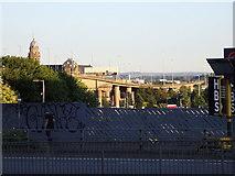 NS5864 : M8 Kingston Bridge across the Clyde, Glasgow by Rudi Winter