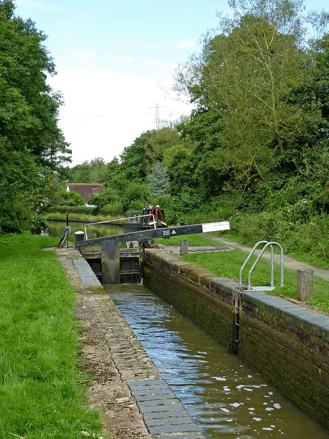 Lock No 26 west of Turner's Green in Warwickshire