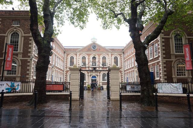 Bluecoat on School Lane, Liverpool