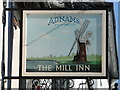 TM4656 : Sign of The Mill Inn, Aldeburgh (2) by Adrian S Pye