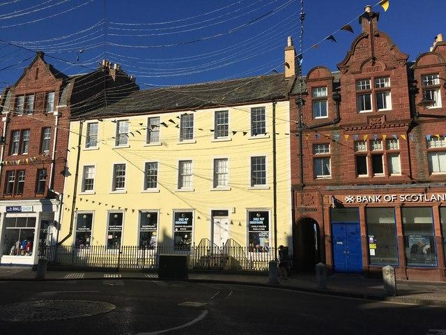 Shops in Dunbar High Street