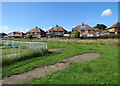 SK5443 : Basford: the remains of our school cricket nets by John Sutton