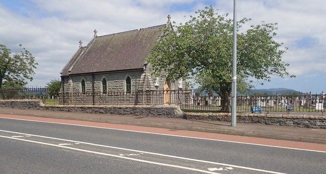 Mortuary Chapel at Dowdallshill Municipal Cemetery, Dundalk