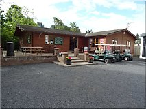 NT6226 : Shop at Lilliardsedge Holiday Park by Philip Halling