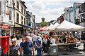 NY2623 : Market day at Keswick by Bill Boaden