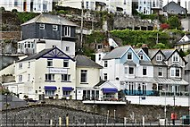 SX2553 : West Looe: The Old Bridge House by Michael Garlick