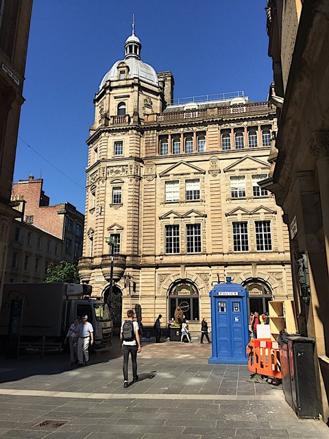 Two Buchanan Street landmarks, Glasgow