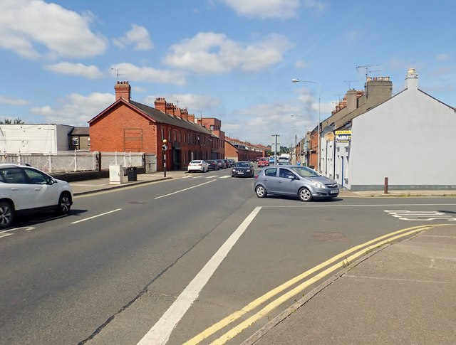 The St Nicholas Avenue junction on the Castletown Road, Dundalk