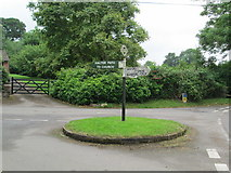 ST7807 : Signpost at Ibberton by David Weston