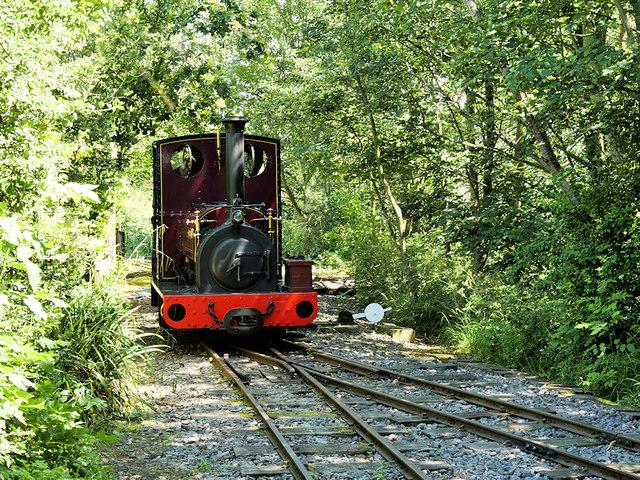 """Steam Locomotive """"Irish Mail"""" at Delph (WLLR)"""