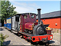 SD4422 : West Lancashire Light Railway Steam Train by David Dixon