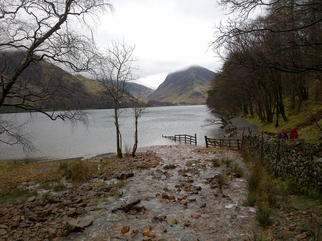 View of Buttermere from the Western Shore