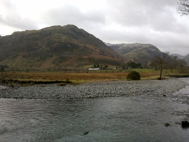 High Knott, Seen from Stonethwaite Beck to the North